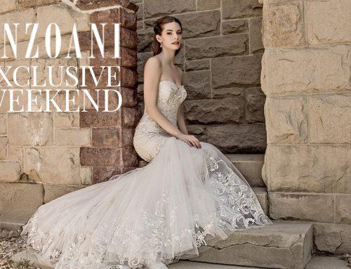 Enzoani Blue – Designer Weekend June 17th!