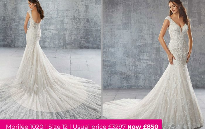 Morilee 1020 is part of our wedding dress sale