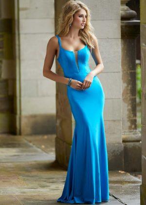 Morilee Neon Silky Jersey Sheath Prom Dress - 45047