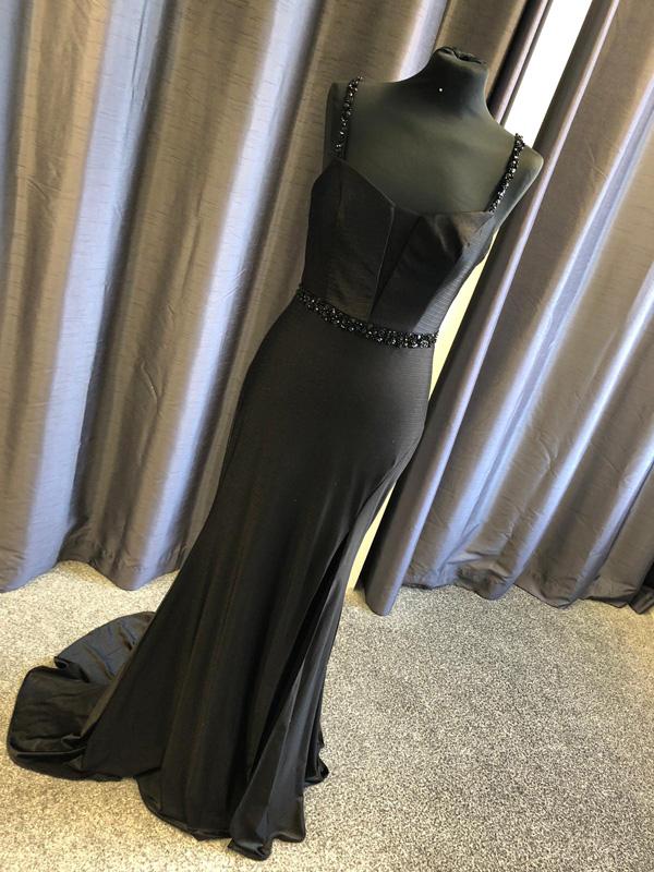 Rachel Allen Prom Dress 7305 Black