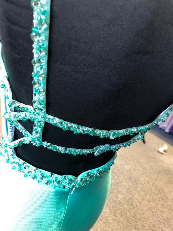 Rachel Allen Prom Dress 7305 Jade