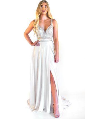 Rachel Allan Prom Dress 7323 White