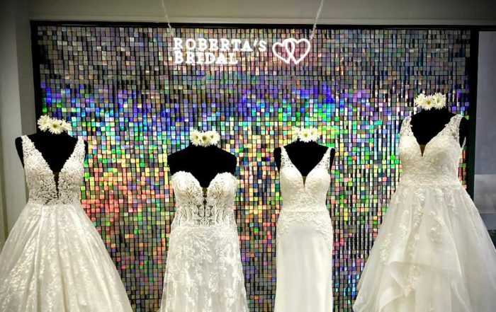 Roberta's Bridal Store shop front
