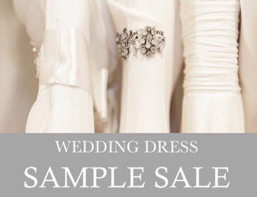 Sample Sale – Saturday 10th June