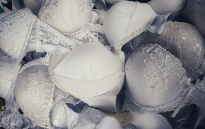 Selection of wedding bras