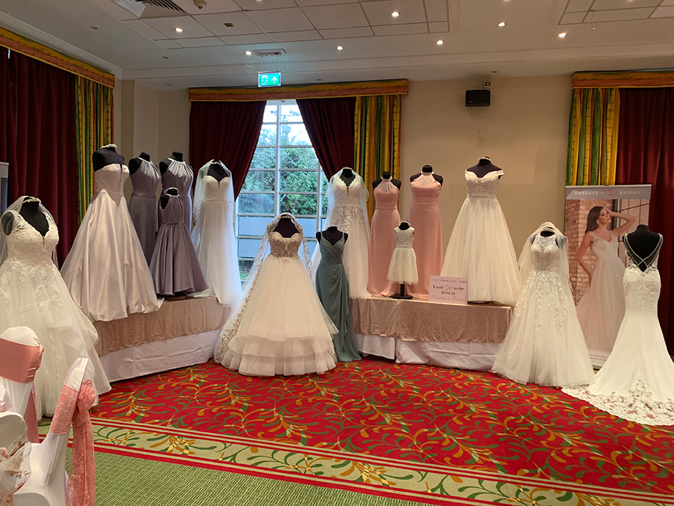 Roberta's Bridal Gowns at The Moat House Wedding Fair