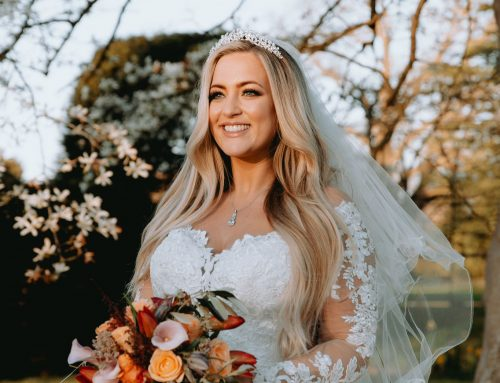 Megan's Married at First Sight in a Roberta's bridal gown