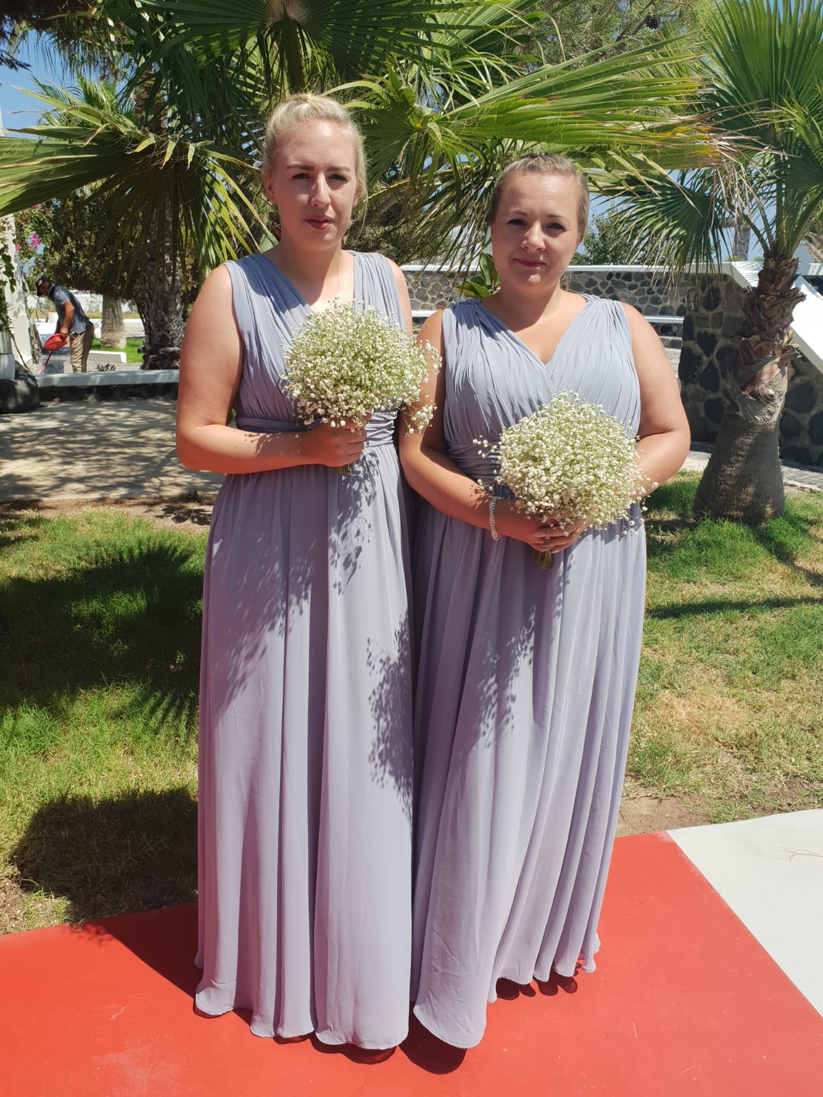 Leanne Holland's bridesmaids