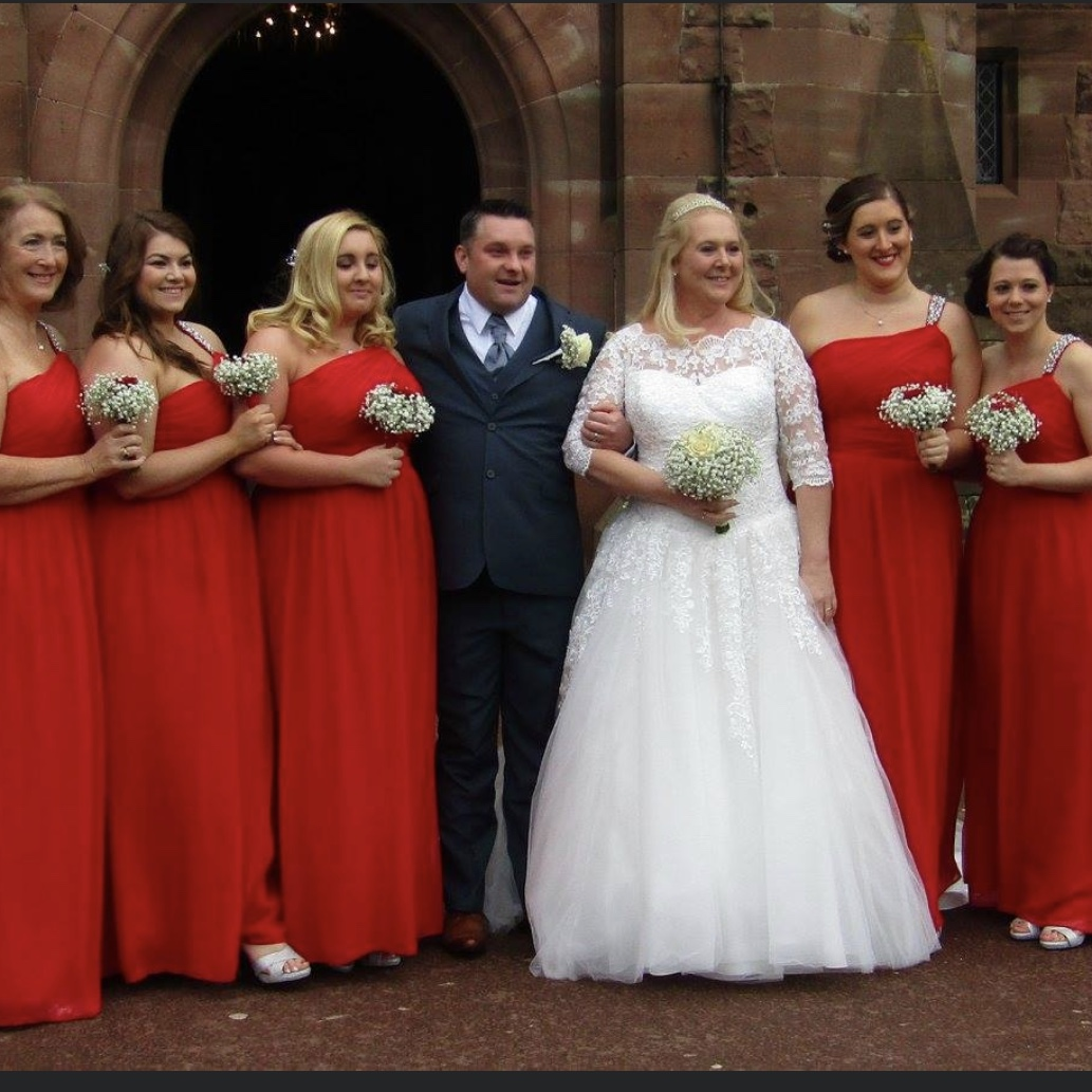 Michelle Nixon at Peckforton Castle Cheshire