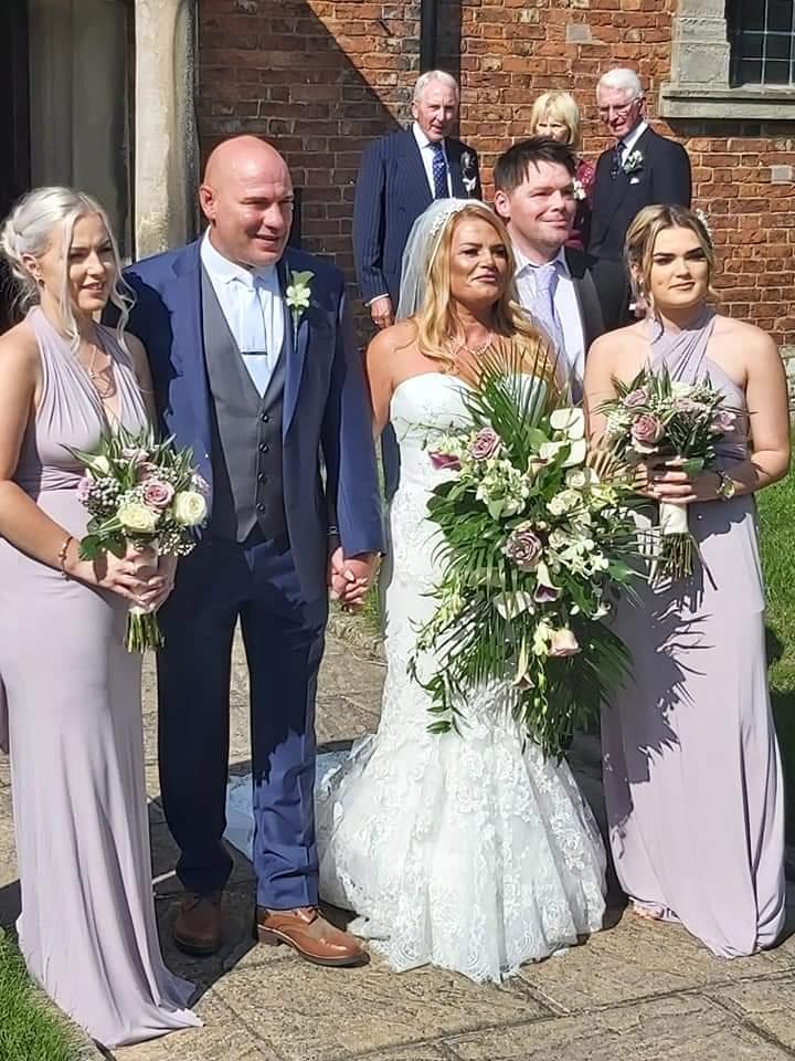 Bride Zoe Newton